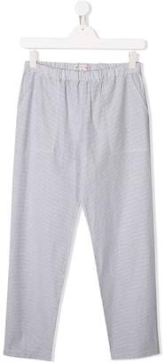 Bonpoint TEEN casual check trousers