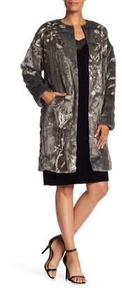 Elie Tahari Faux Fur Sammy Coat