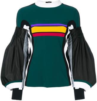 NO KA 'OI No Ka' Oi bell sleeved T-shirt