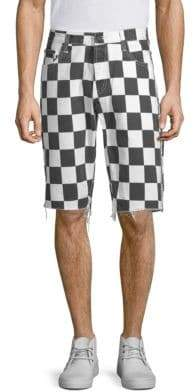 PRPS Slim-Fit Checkered Shorts