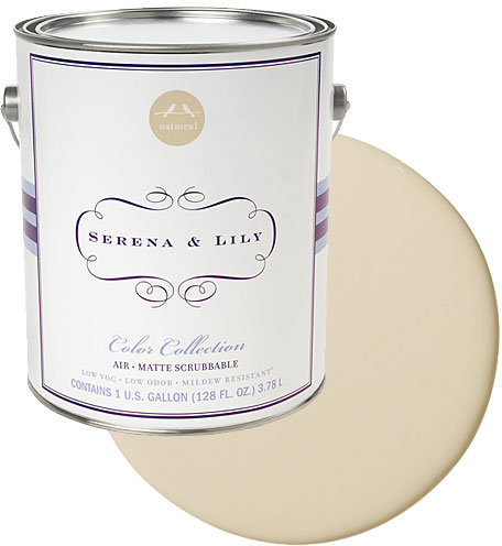 Serena & Lily Wall Paint Gallon in Oatmeal