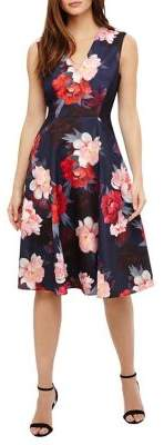 Phase Eight Azalia Elba Floral Fit-and-Flare Dress