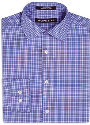 Michael Kors Boys' Pastel Micro Plaid Dress Shirt - Big Kid $57 thestylecure.com