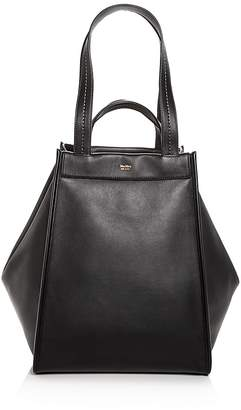 Max Mara Large Reversible Leather & Cashmere Tote