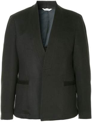 Sartorial Monk collarless blazer