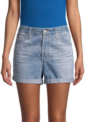 AG Jeans Alex Boyfriend Denim Shorts