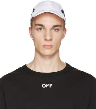 Off-White White Diagonal Spray Cap $120 thestylecure.com