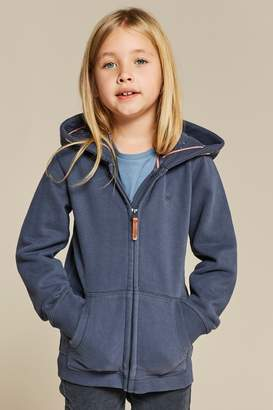 Next Girls FatFace Blue Out Of This World Zip Through Hoody