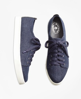 Brooks Brothers Denim Sneakers