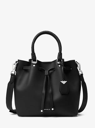 Michael Kors Blakely Leather Bucket Bag