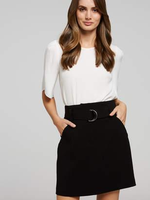 Portmans Australia D-Ring Mini Skirt