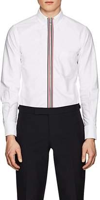 Thom Browne Men's Cotton Zip-Front Shirt