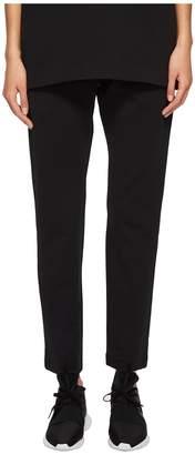 Yohji Yamamoto Matte Track Pants Women's Casual Pants