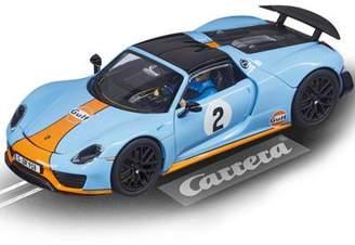 Carrera Slot Car 27549 Porsche 918 Spyder Gulf Racing - 1/32 Scalextric