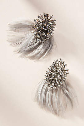 Mignonne Gavigan Petite Delaney Feather Drop Earrings