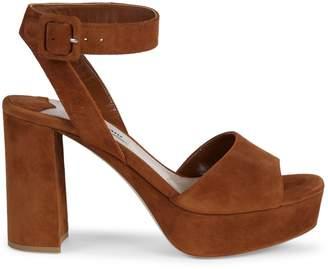 Miu Miu Leather Heeled Sandals