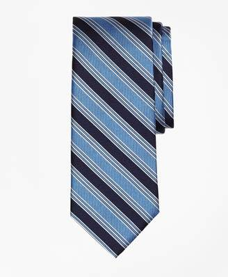 Brooks Brothers Split BB#1 Stripe Tie