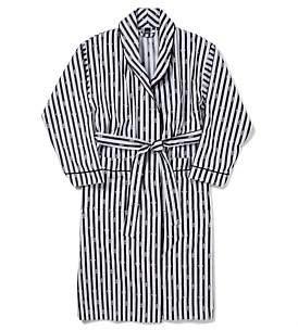 David Jones Edward Jacquard Embossed Woven Robe