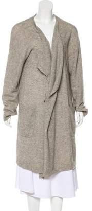 Pas De Calais Wool Blend Oversized Cardigan