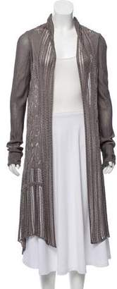 Fuzzi Long Sleeve Knit Cardigan