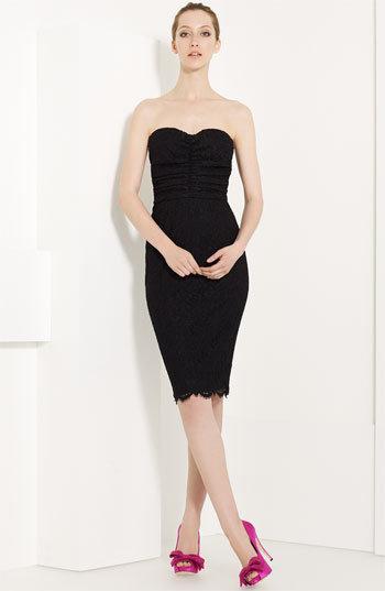 Dolce&Gabbana Strapless Lace Dress