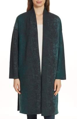 Eileen Fisher Wool Blend Kimono Coat