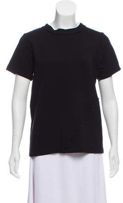 Koral Embellished Short Sleeve To p