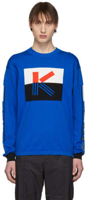 Kenzo Blue Colorblock K Sweater
