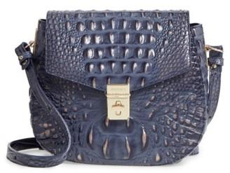 Brahmin Melbourne - Lizzie Leather Crossbody Bag - Blue $245 thestylecure.com