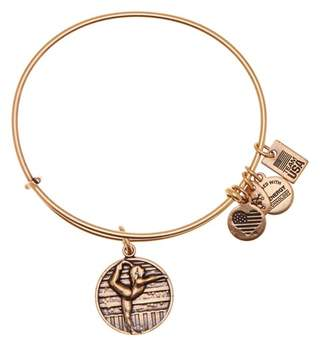 Alex and Ani Team USA Gymnastics Expandable Wire Charm Bracelet