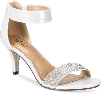 Style & Co Phillys Two-Piece Evening Sandals, Only at Macy's Women's Shoes $69.50 thestylecure.com