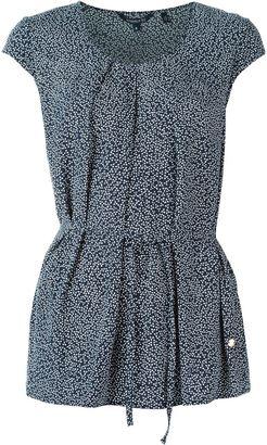 Woolrich floral tie waist blouse $123.97 thestylecure.com