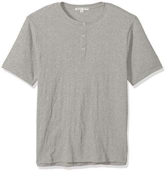 Threads 4 Thought Men's Matthew Organic Cotton Slub Short Sleeve Henley