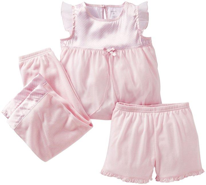 Carter's 3 Piece Princess Set (Baby) - Pink-12 Months
