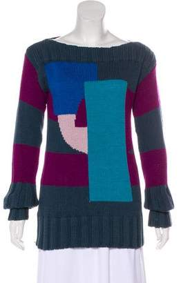 Marc Jacobs Knit Patchwork Sweater