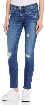 rag & bone/JEAN The Skinny Jeans in Distressed Canyon $225 thestylecure.com