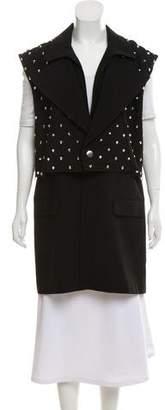 Givenchy Studded Crepe Vest
