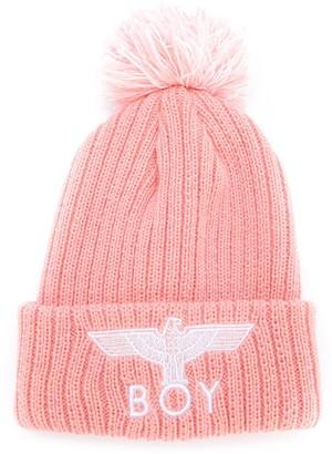 Boy London Kids Eagle knitted beanie