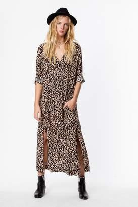 e31bba0f2b V Neck Leopard Print Dress - ShopStyle UK