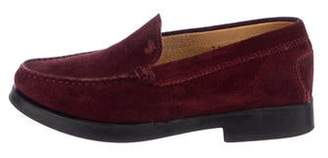 Tod's Girls' Suede Loafers w/ Tags