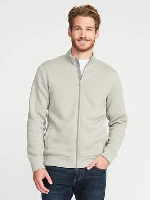 Old Navy Sweater-Fleece Zip-Front Jacket for Men