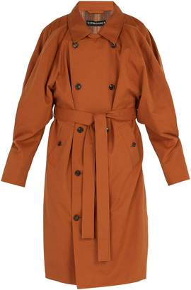 Y/Project Double-front trench coat