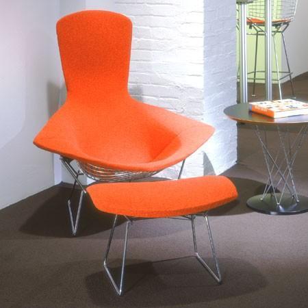 Knoll - bird lounge chair by harry bertoia