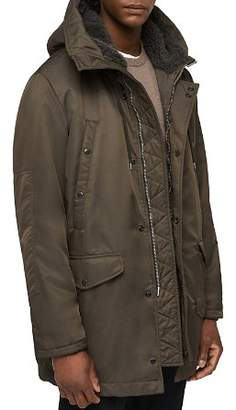 AllSaints Garth Parka with Shearling?-Lined Hood