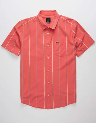 RVCA Hacienda Stripe Mens Shirt