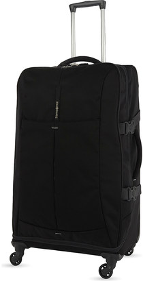 Samsonite 4Mation four-wheel Spinner Duffle 77cm $153 thestylecure.com