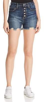Current/Elliott The Ultra High-Waist Denim Shorts in Belloc