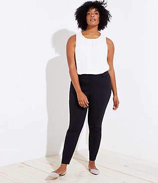 908673324e3 LOFT Blue Women s Skinny Pants - ShopStyle