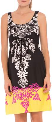 Olian 'Eloise' Graphic Maternity Dress