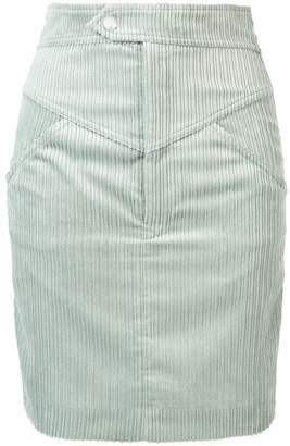 Isabel Marant high waisted corduroy skirt